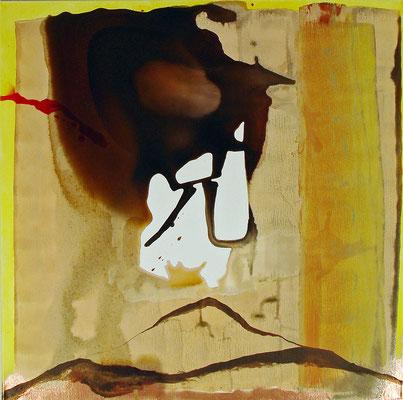 Sian Go / Des Kleinen Übergewicht (62), 2012, Zeichentusche auf Leinwand, € 490.-