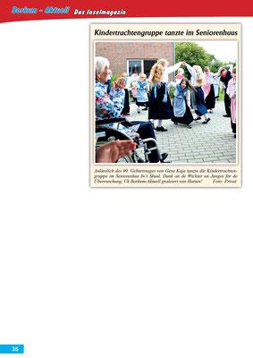 Borkum-Aktuell – Das Inselmagazin - August 2017