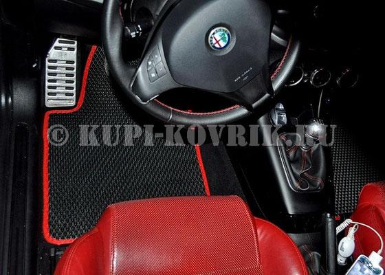 Коврики Alfa Romeo Guilietta