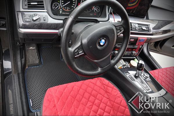 Коврики EVA для BMW 5 VI F07 Gran Turismo