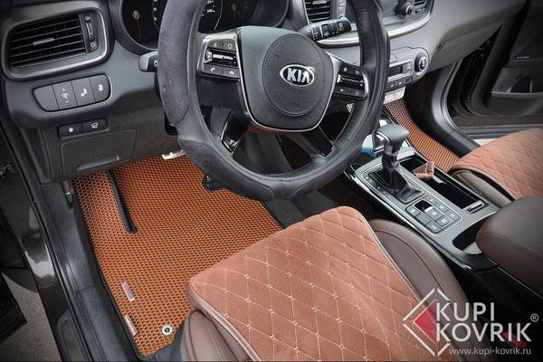 Коврики EVA для Kia Sorento Prime