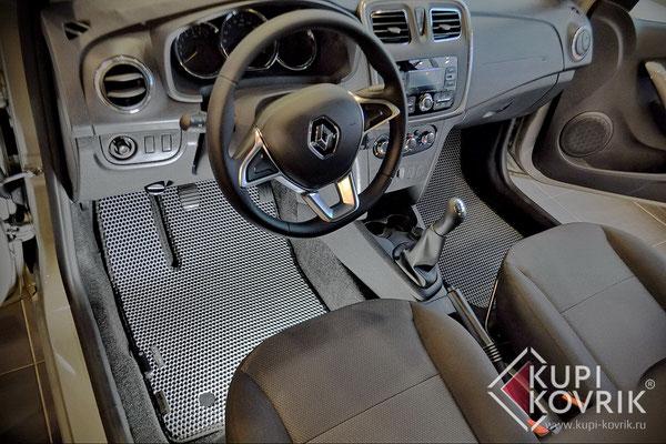Коврики EVA для Renault Sandero II