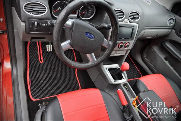 Автомобильные коврики EVA для Ford Focus II