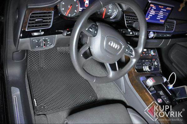 Автомобильные коврики EVA Audi A8 D4 III Long