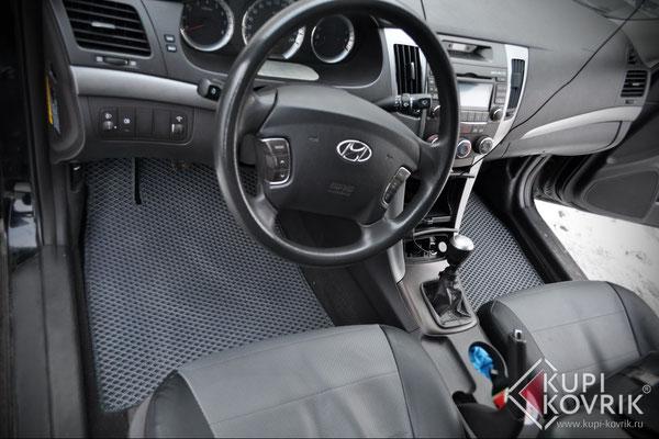 Автомобильные коврики EVA для Hyundai Sonata V NF