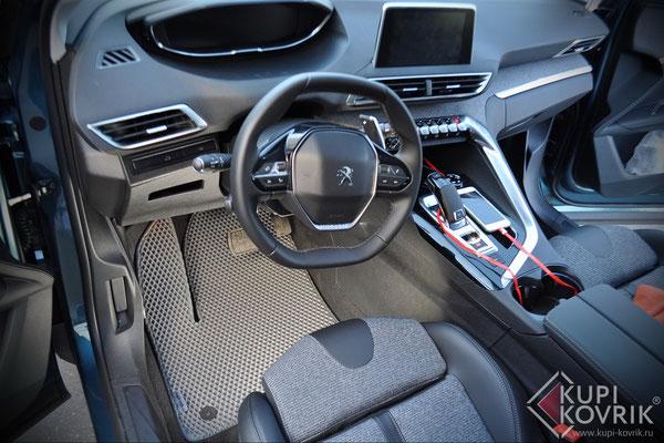 Коврики EVA для Peugeot 5008