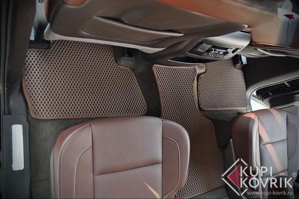 Коврики EVA для Cadillac Escalade IV 7 мест