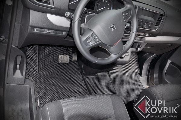 Коврики EVA для Peugeot Traveller