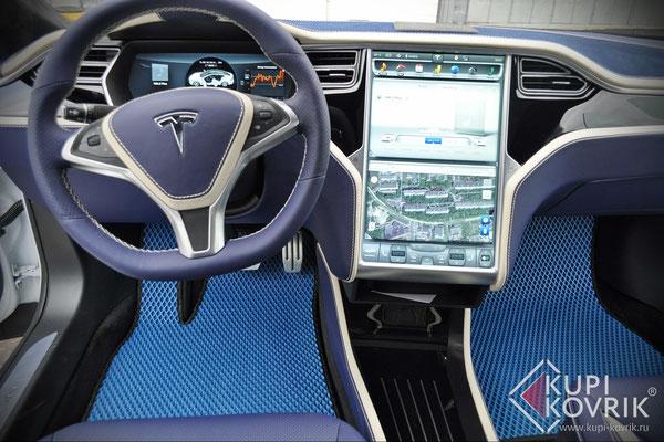 Коврики EVA для Tesla Model S