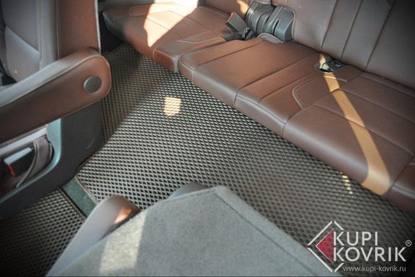 Коврики EVA для Cadillac Escalade IV 3 ряд