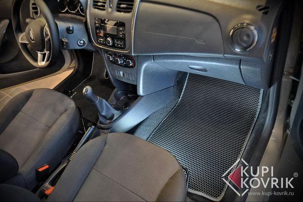 Коврики EVA для Renault Logan II