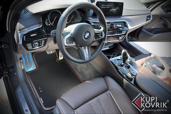 Автомобильные коврики EVA BMW 5 G30