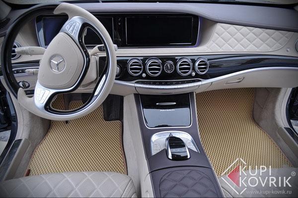 Коврики EVA для Mercedes-Benz W222
