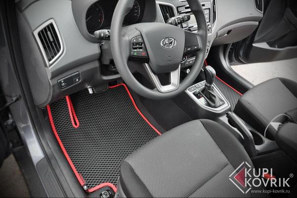 Автомобильные коврики EVA для Hyundai Creta