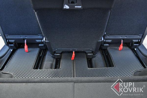 Автомобильные коврики EVA для Citroen C4 Picasso II Grand