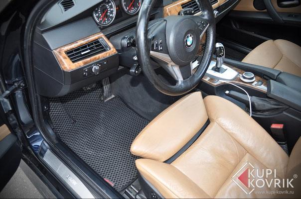 Автомобильные коврики EVA BMW 5 E60
