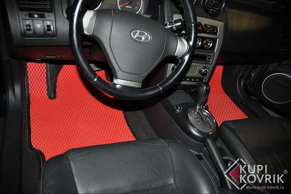 Автомобильные коврики EVA для Hyundai Coup II