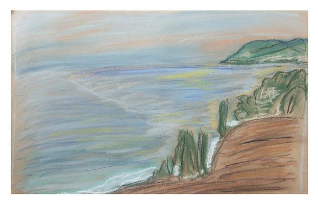 "Pastell ""Madeira III"", Werk-Nr. 083, Florence Solvay"