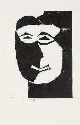Holzschnitt, Werk-Nr. 131, Florence Solvay