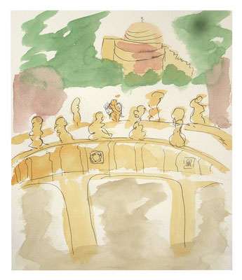 "Landschaft ""Rom IV"", Werk-Nr. 102, Florence Solvay"