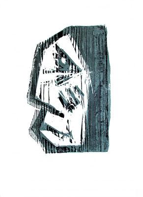 Holzschnitt, Werk-Nr. 142, Florence Solvay