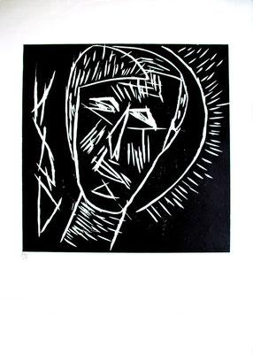 Holzschnitt, Werk-Nr. 132, Florence Solvay