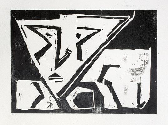 Holzschnitt, Werk-Nr. 130, Florence Solvay
