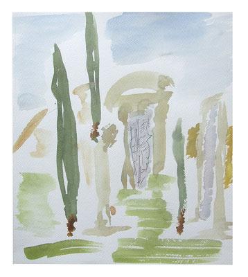 """Landschaft """"Rom III"""", Werk-Nr. 101, Florence Solvay"""