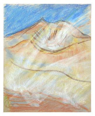 """Pastell """"Ätna"""", Werk-Nr. 049, Florence Solvay"""