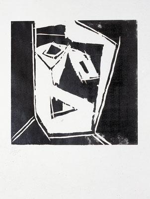 Holzschnitt, Werk-Nr. 126, Florence Solvay