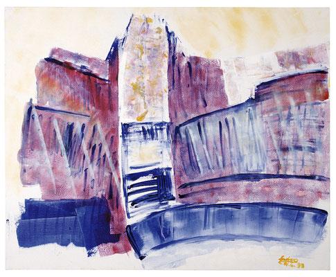 """Landschaft """"Kathedrale"""", Werk-Nr. 028, Florence Solvay"""