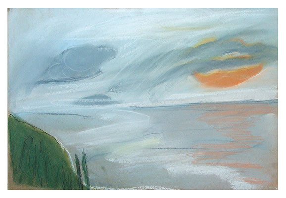 """Landschaft """"Madeira IV"""", Werk-Nr. 084, Florence Solvay"""