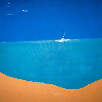 """Landschaft """"Ningaloo Reef"""", Werk-Nr. 086, Florence Solvay"""