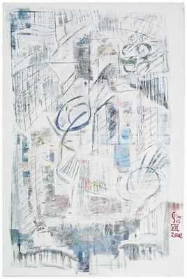 """Landschaft """"Stadt am Wasser"""", Werk-Nr. 065, Florence Solvay"""