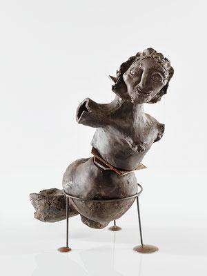 """Skulptur """"Die tanzende Amazone"""", Florence Solvay"""