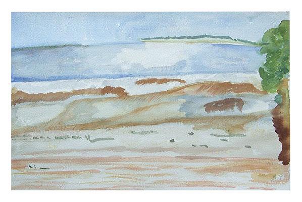 """Landschaft """"Côte d'Argent II"""", Werk-Nr. 076, Florence Solvay"""
