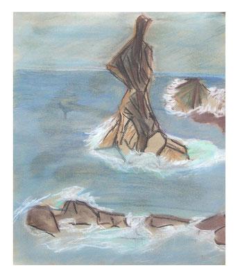 """Landschaft """"Madeira I"""", Werk-Nr. 081, Florence Solvay"""