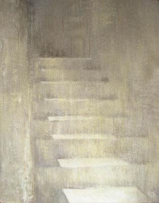 Надежда Анфалова — «Греческая лестница». Холст, темпера, 70*90 см, 2006.