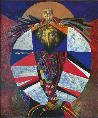 Отверженный, х., м., 100х80, 1992