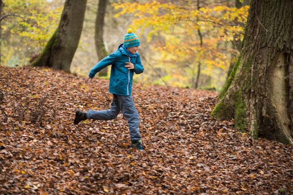 Jetzt aber los! Schnell zum Herbstcamp der Wildnisschule Habichtswald