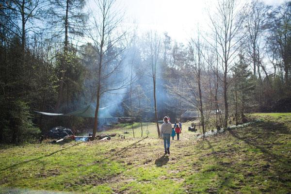 Frühlingszeit im Camp