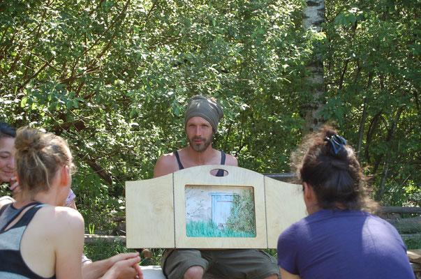 Erzählen für Kinder mit dem Erzähltheater