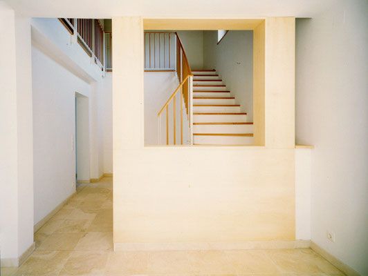 Neues Stiegenhaus                                                                                                                                  Foto © M. Spiluttini