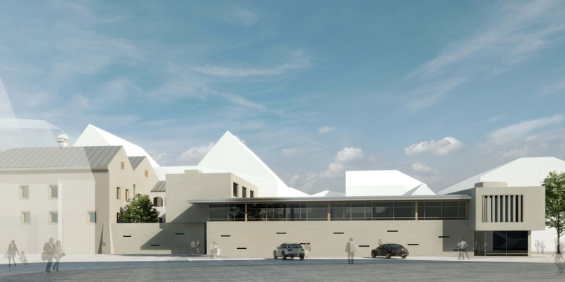 Conversion and extension of the building Salzburger Vorstadt 15 in Braunau-A, 2020 - Award