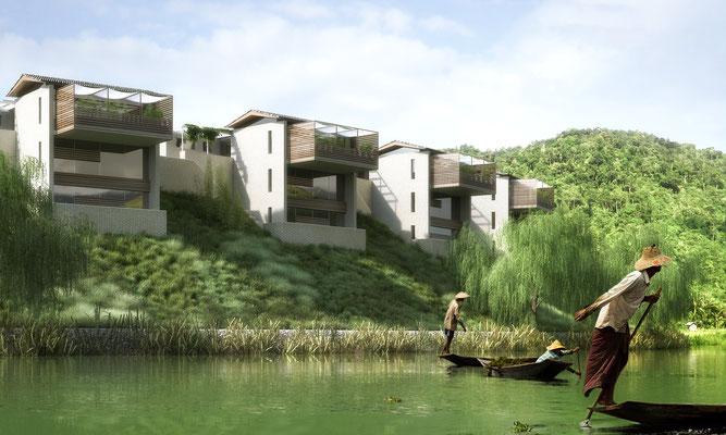 40 Einfamilienhäuser in Changsha - CN