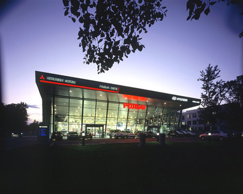 Autohaus Hyundai/Mitsubishi, Moskau-RU, 2003-2006