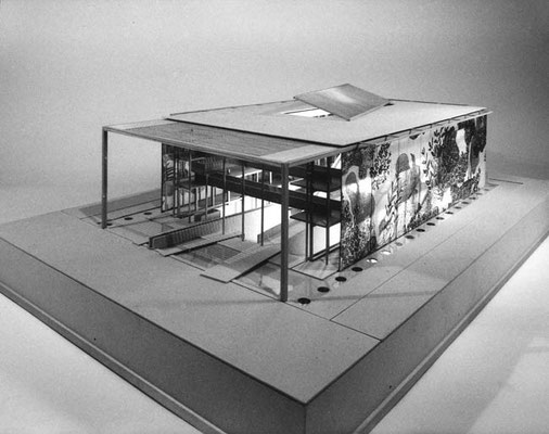 Österreichischer Pavillon für die EXPO ´92, Sevilla-E, 1991 - Preisträger der ersten Wettbewerbsstufe