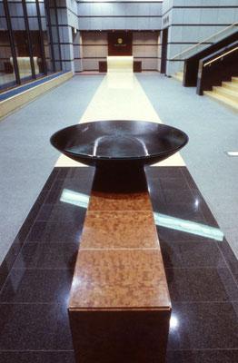 Doppelwandiges Becken mit integriertem Überlauf