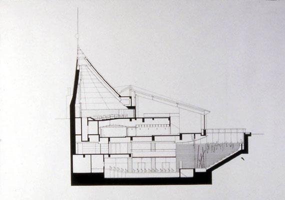 Gebäudequerschnitt
