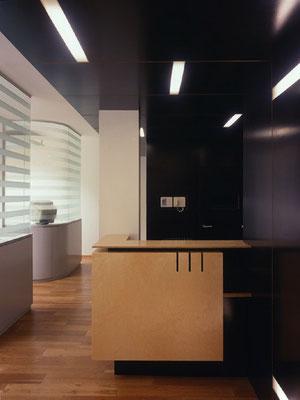 Empfangspult-Röntgenraum-Behandlungsbereiche - Foto © M. Spiluttini